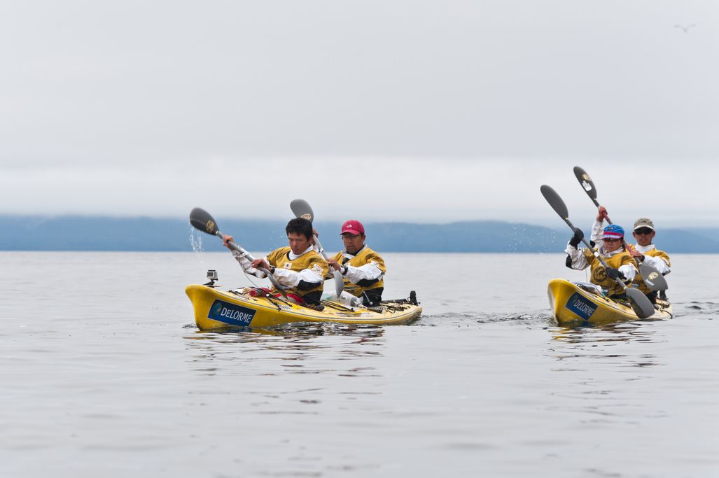 Patagonian Expedition Race 2013, Patagonia, Chile, Team Kayak Expedition Stage, Team East Wind