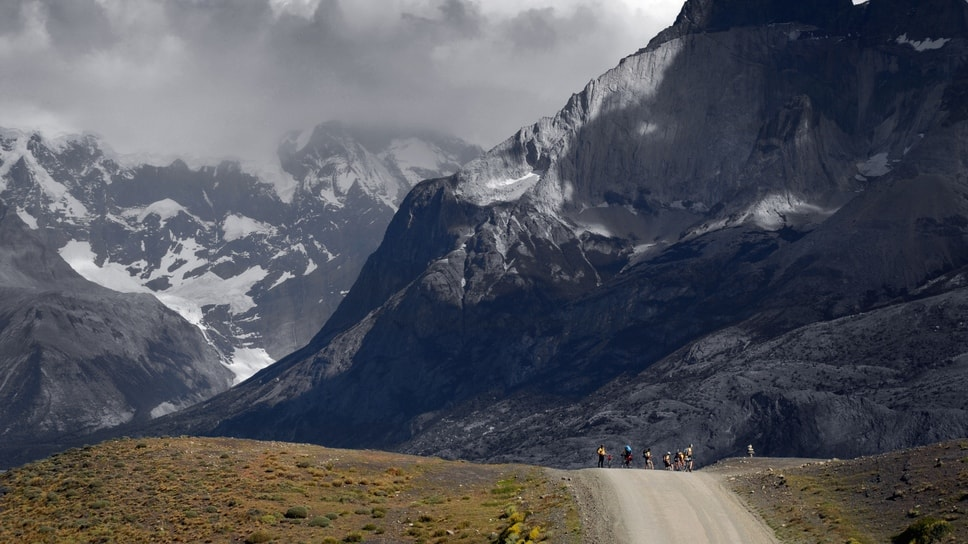 Patagonian Expedition Race, Bike Section, Parque Nacional Torres del Paine, Patagonia, Chile