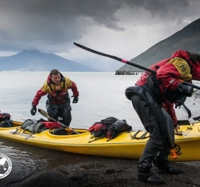 Team Expedition through Chilean Patagonia; Kayak Expedition; Kayak Expedition; Team M.O.B. Mind Over Body; Patagonian Expedition Race 2016 in Patagonia, Chile