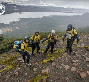 Team Expedition through Chilean Patagonia; Mountain Climbing Expedition; Trekking; Team Merrell Adventure Addicts; Patagonian Expedition Race 2016 in Patagonia, Chile