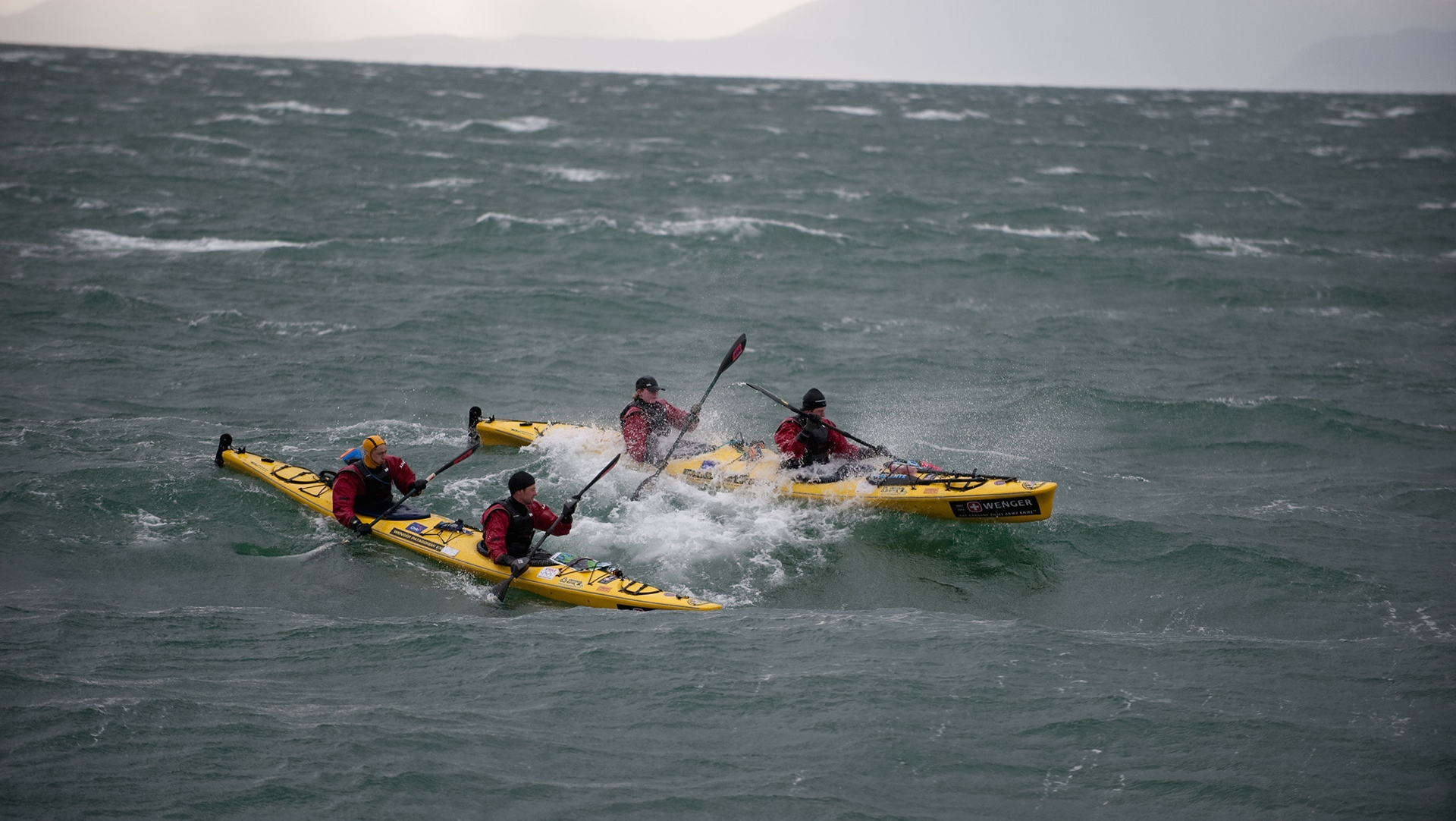 Patagonian Expedition Race, Patagonia, Chile, Team Kayak Expedition Stage