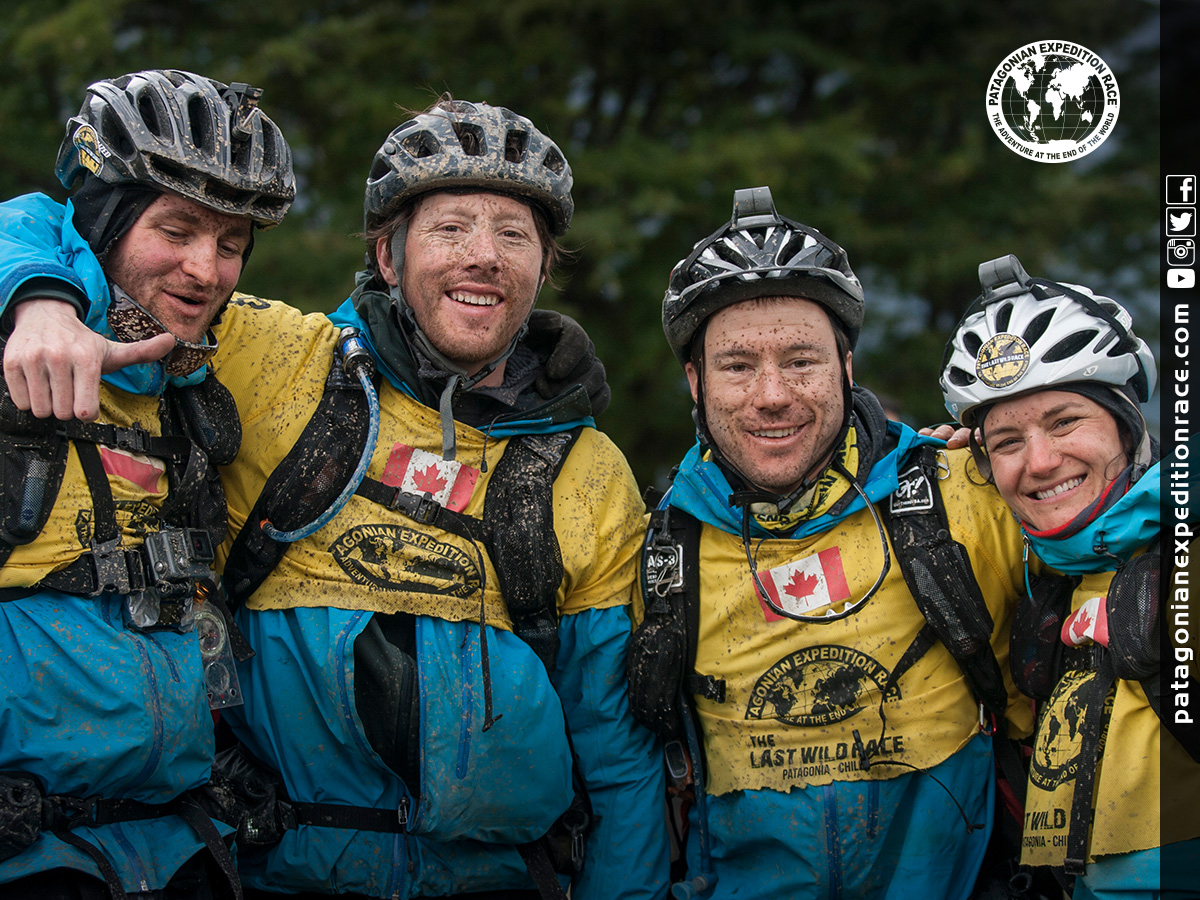 Team Expedition through Chilean Patagonia; Mountain Climbing Expedition; Kayak Expedition; Bike Expedition; Trekking; Team Mind Over Body; Patagonian Expedition Race 2016 in Patagonia, Chile