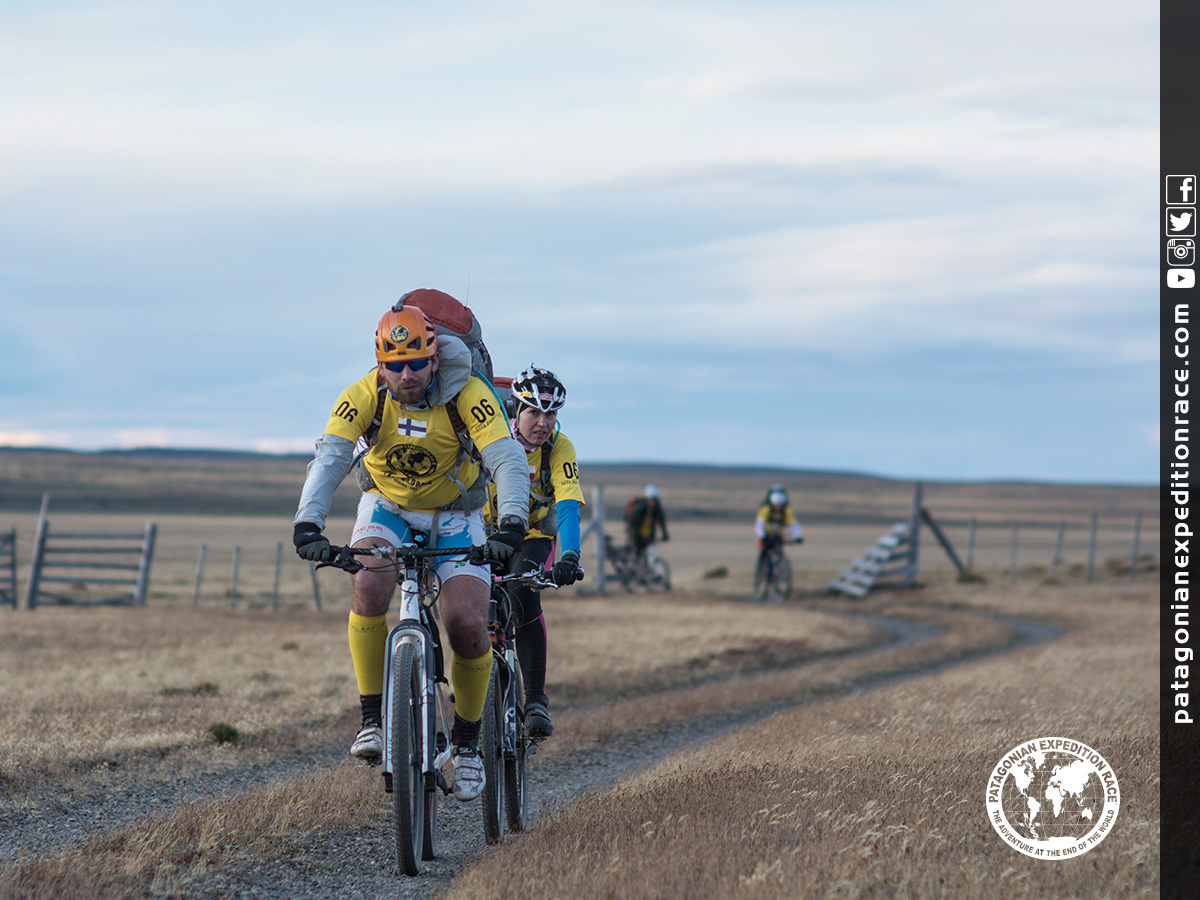Team Expedition through Chilean Patagonia; Bike Expedition; Team Mila Finland; Patagonian Expedition Race 2016 in Patagonia, Chile
