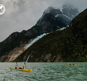Team Expedition through Chilean Patagonia; Mountain Climbing Expedition; Kayak Expedition; Bike Expedition; Trekking; Glacier Balmaceda; Patagonian Expedition Race 2016 in Patagonia, Chile