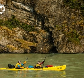 Team Expedition through Chilean Patagonia; Kayak Expedition; Team YogaSlackers; Patagonian Expedition Race 2016 in Patagonia, Chile
