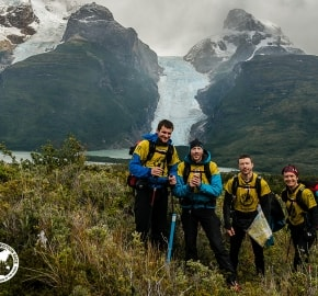 Team Expedition through Chilean Patagonia; Mountain Climbing Expedition; Trekking; Glacier Balmaceda; Team M.O.B. Mind Over Body; Patagonian Expedition Race 2016 in Patagonia, Chile