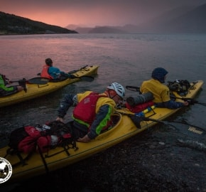 Team Expedition through Chilean Patagonia; Kayak Expedition; Team Merrell Adventure Addicts; Patagonian Expedition Race 2016 in Patagonia, Chile