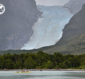 Team Expedition through Chilean Patagonia; Kayak Expedition; Glacier Balmaceda; Patagonian Expedition Race 2016 in Patagonia, Chile