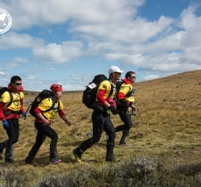 Team Expedition through Chilean Patagonia; Mountain Climbing Expedition; Trekking; Team East Wind; Team YogaSlackers; Patagonian Expedition Race 2016 in Patagonia, Chile