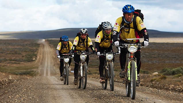 Patagonian Expedition Race Bike Expedition Stage Team East Wind, Patagonia, Chile